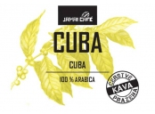 Pražená zrnková káva - Cuba Serrano Lavado (1000g)