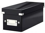 Krabice na CD Leitz Click&Store, černá