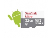 SanDisk MicroSDHC karta 32GB Ultra (80MB/s, Class 10 UHS-I, Android)