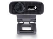 GENIUS FaceCam 1000X V2/ Webkamera, HD, 1280x720, mikrofon, USB 2.0, černá