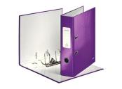 Pákový pořadač Leitz 180° WOW, A4/85mm, purpurová