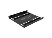 AXAGON RHD-125B, kovový rámeček pro 1x 2.5 HDD/SSD do 3.5 pozice, černý