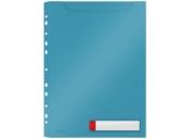 Desky velkokapacitní Leitz Cosy A4, neprůhledný PP, 3 ks, klidná modrá