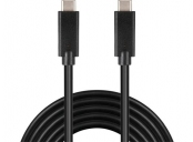 PremiumCord kabel USB-C (USB 3.2 generation 2x2, 3A, 20Gbit/s)  2m
