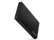 AXAGON EE25-SLC, USB-C 3.2 Gen 1 - SATA 6G 2.5 SLIDE box, bezšroubkový, černý