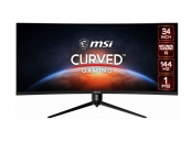 MSI Gaming MPG ARTYMIS 343CQR, 34 zakřivený /3440x1440 (UWQHD)/VA LED/1ms/3000:1/550cd / m2 /2 x HDMI/DP/USB-C/USB