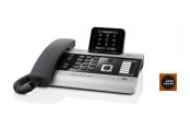 SIEMENS Gigaset DX800A ISDN - špičkový stolní ISDN telefon,  barva titanová