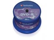VERBATIM DVD+R AZO 4,7GB, 16x, spindle 50 ks