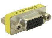 Adaptér DB15 (VGA) samice/samice