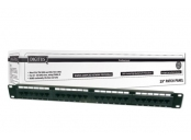 Digitus Patch Panel, Cat 5e, nestíněný, 19, 24 port , LSA