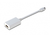 Digitus DisplayPort adapter, mini DP/M - HDMI Type A/F