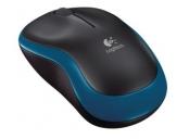 Logitech myš Wireless Mouse M185, optická, 3 tlačítka, modrá,1000dpi