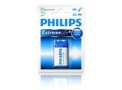 Philips baterie 9V ExtremeLife+, alkalická - 1ks