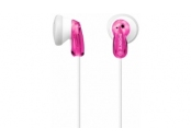 SONY MDR-E9LPP - Sluchátka do ucha, 13,5 mm budicí jednotka, neodymový magnet, kabel 1,2 m, Pink