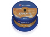 VERBATIM DVD-R AZO 4,7GB, 16x, spindle 50 ks