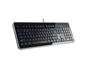 CONNECT IT klávesnice, LED PODSVÍCENÁ, USB, CZ
