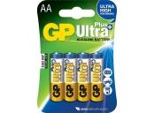 GP AA Ultra Plus, alkalická - 4 ks