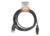 Belkin kabel USB 2.0 A/A prodlužovací, 3m