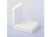Závěsné kování typ bystrica bílé