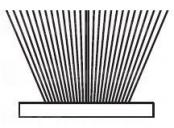 Sev-dorazový kartáč samolep. 6, 7x4mm