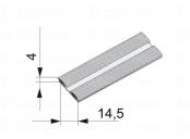 Sev-dorazový kartáč zásuvný 14, 5x4mm
