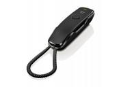 SIEMENS Gigaset DA210 - standardní telefon bez displeje, barva černá