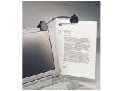 Kensington držák dokumentů FlexClip™ - šedý