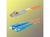 OPTIX LC/UPC-SC/UPC Optický patch cord 09/125 0,5m G657A