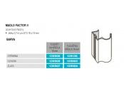 Sev-factor 18 ii-úchyt.lišta stř. 2, 7m