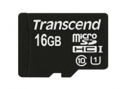 Transcend 16GB microSDHC UHS-I 400x Premium (Class 10) paměťová karta (bez adaptéru)