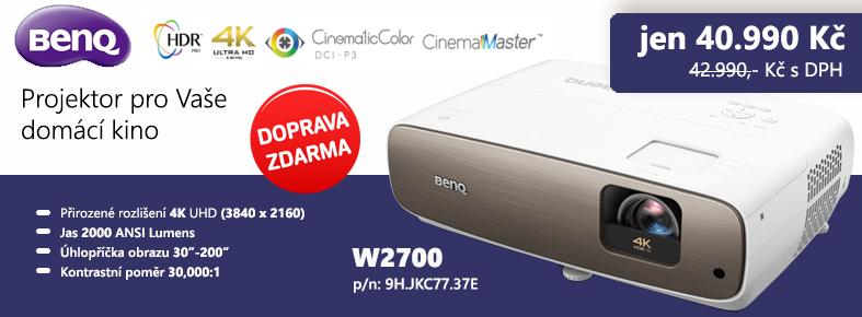 Netrade.cz - BenQ DLP Projektor W2700/3D/4K UHD(3840 x 2160)/20