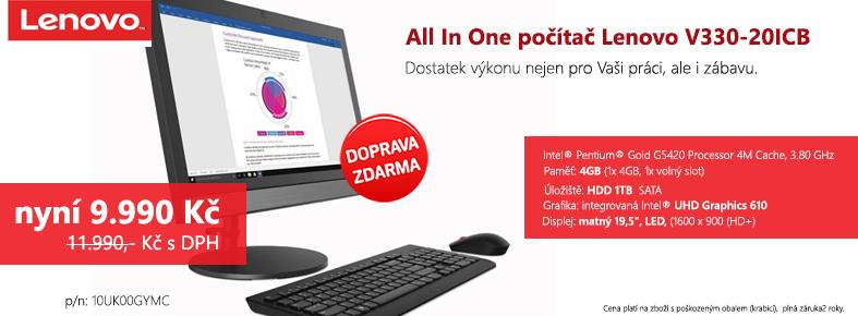 Netrade.cz - Lenovo V330 AIO G5420/4GB/1TB HDD/19